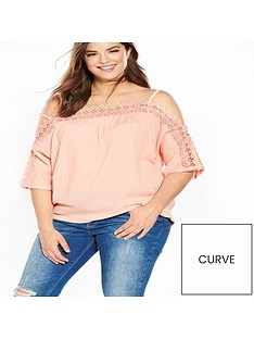 v-by-very-curve-lace-trim-bardot-top