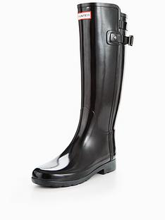 hunter-refined-back-strap-gloss-welly