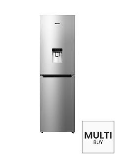 hisense-rb335n4wg1-55cm-wide-frost-free-fridge-freezer-silver