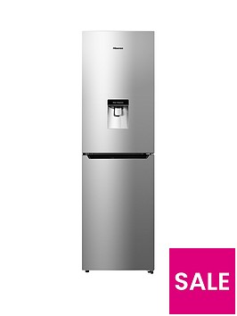 hisense-rb335n4wg1-55cm-widenbsptotal-non-frost-fridge-freezer-silver