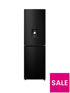 hisense-rb335n4wb1-55cm-wide-frost-free-fridge-freezer-black
