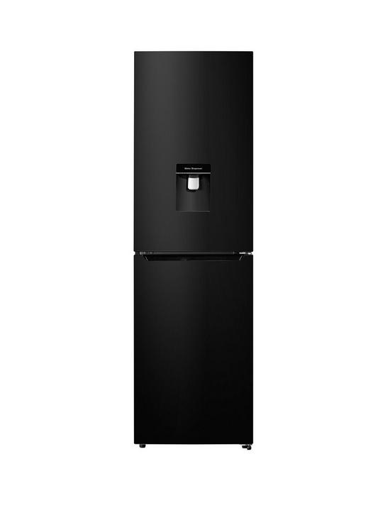 RB335N4WB1 55cm Wide Total Non Frost Fridge Freezer - Black