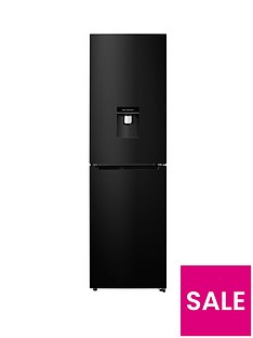hisense-rb335n4wb1-55cm-wide-frost-free-fridge-freezer-black--nbspnext-day-delivery