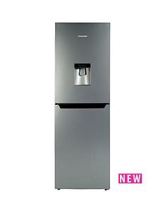 hisense-rb320d4wg1-55-cm-wide-fridge-freezer-silver