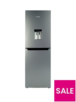 hisense-rb320d4wg1-55cm-wide-fridge-freezer-silver
