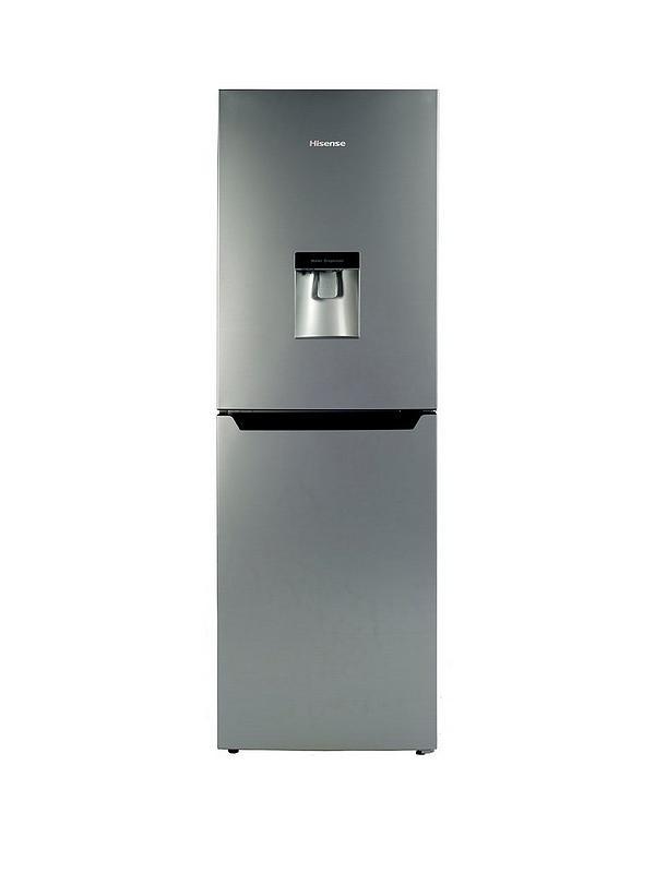 RB320D4WG1 55cm Wide Fridge Freezer - Silver