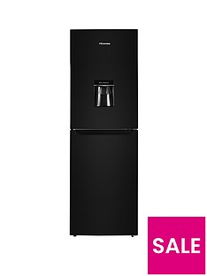 Hisense RB320D4WB1 55cm Wide Fridge Freezer - Black