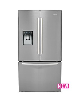 hisense-rf697n4zs1-70cm-wide-french-door-style-fridge-freezer-stainless-steel
