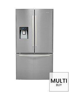 hisense-rf697n4zs1-70cm-wide-frost-free-french-door-style-fridge-freezer-stainless-steel
