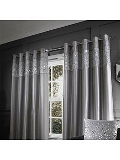 catherine-lansfield-glitzy-sequin-eyelet-curtain-90x90