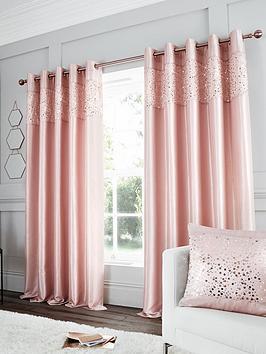 catherine-lansfield-glitzy-sequin-lined-eyelet-curtains