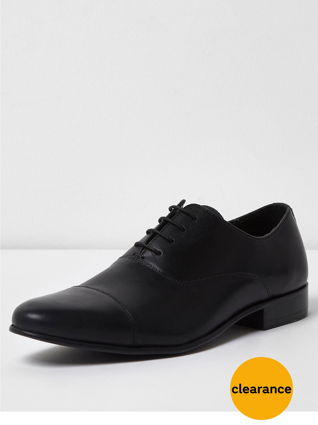 River Island Raynes Toecap Perf Shoe 1600181083 Men's Shoes River Island Shoes