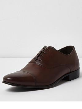 river-island-leather-toe-cap-oxford-shoe