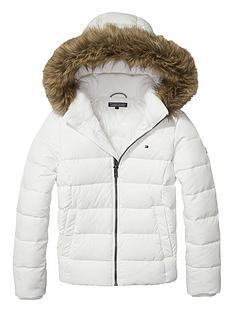 tommy-hilfiger-girls-faux-fur-trim-padded-coat