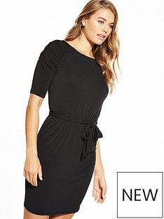 v-by-very-belted-crepe-dress