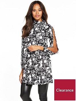 v-by-very-crepe-bow-neck-printed-jersey-tunic-blouse-floral