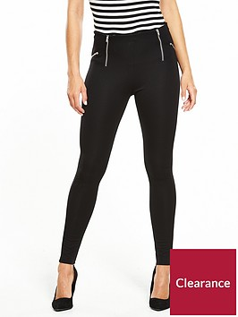 v-by-very-zip-detail-ponti-legging-black