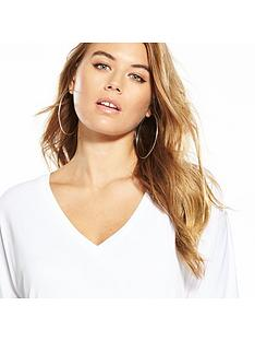 v-by-very-cupro-slouchy-tunic