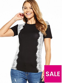 v-by-very-lace-panel-tshirt