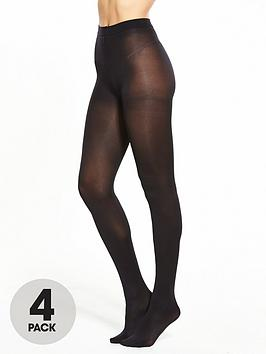 pretty-polly-4-pack-60-denier-opaque-tights-blacknbsp