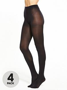 pretty-polly-4-pack-60-denier-opaque-tights