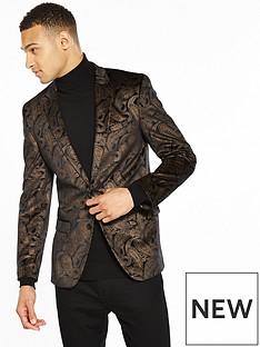river-island-paisley-printed-velour-blazer
