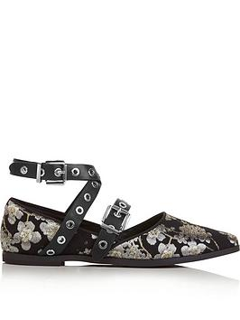 sol-sana-miro-flat-tie-shoes--black-multi