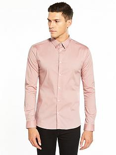 river-island-long-sleeve-skinny-fit-shirt