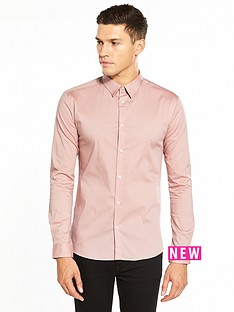 river-island-long-sleeve-skinny-fit-shirt