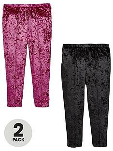 mini-v-by-very-girls-2-pack-velvet-leggings
