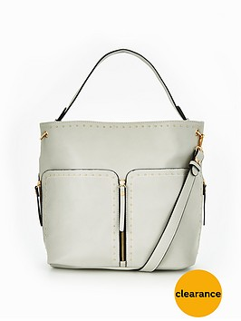 miss-selfridge-grey-studded-hobo-bag