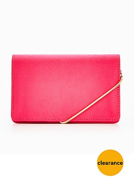 miss-selfridge-crossbody-hot-pink-bag