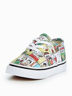 vans-vans-peanuts-td-authentic-comics-infant-trainer