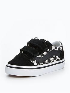 vans-vans-peanuts-snoopy-checkerboard-td-old-skool-v-infant-trainer