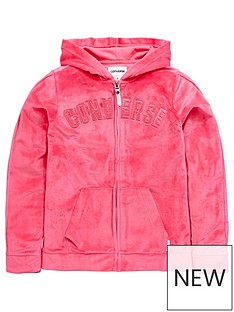 converse-girls-full-zip-velour-hoody