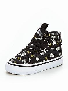 vans-vans-peanuts-td-sk8-hi-zip-mummies-glow-in-the-dark-infant-trainer