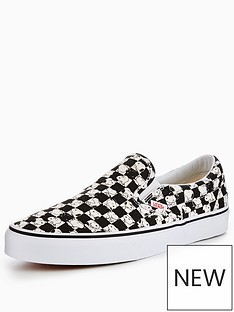 vans-vans-peanuts-snoopy-checkerboard-ua-classic-slip-on