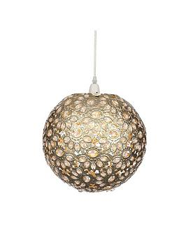 champagne-metalwork-ball-easy-fit-pendant
