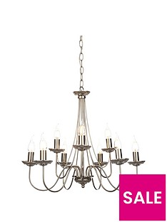 elegant-9-light-chrome-amp-crystal-chandelier-ceiling-pendant
