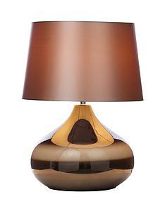 glazed-ceramic-table-lamp-chocolate