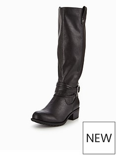 v-by-very-anchor-block-heel-strap-knee-high-boot-black
