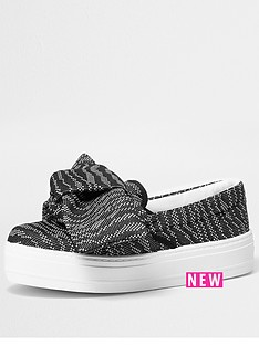 river-island-dolce-printed-bow-slip-on