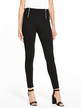v-by-very-zip-detail-ponti-legging