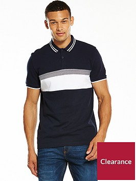 v-by-very-ss-chest-block-polo-navy