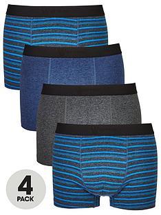 v-by-very-4-pk-blue-stripe-trunks-multi