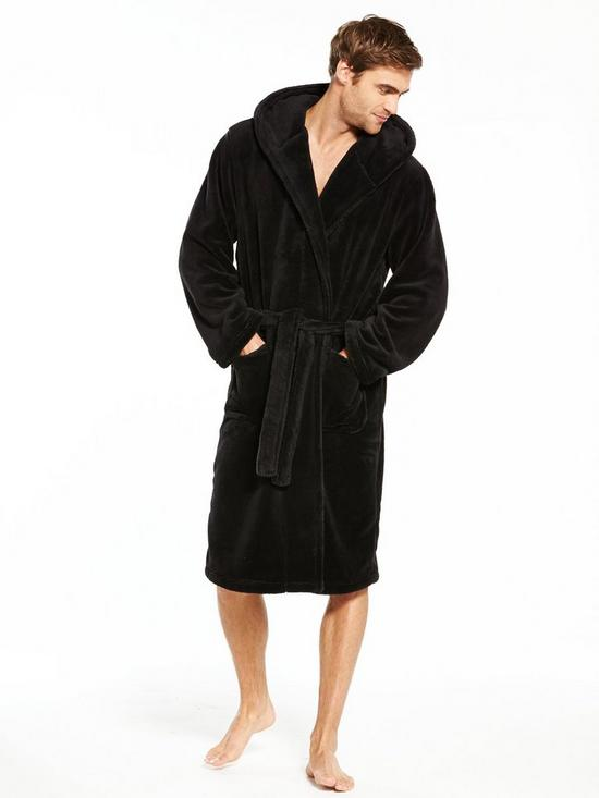 V by Very Hooded Supersoft Robe  ab279e287