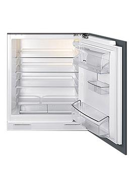 smeg-ukud7140lsp-60cm-integrated-under-counter-larder-fridge