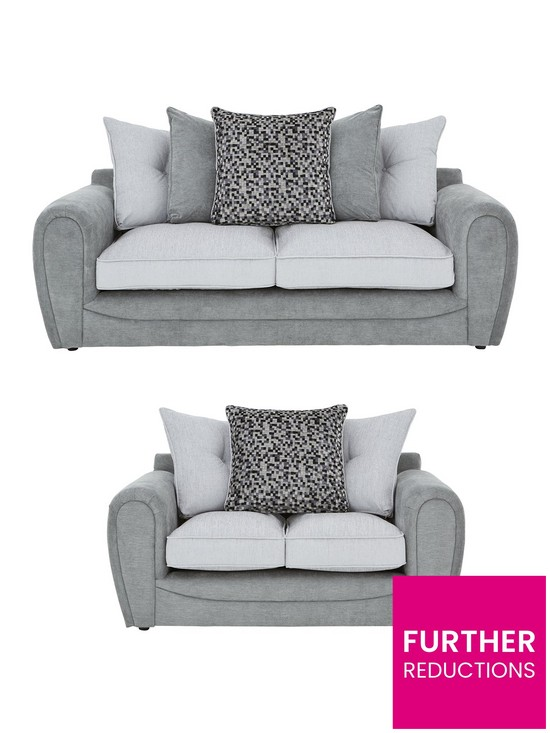 Wondrous Mosaic 3 Seater 2 Seater Fabric Sofa Set Buy And Save Home Interior And Landscaping Eliaenasavecom