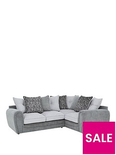 mosaic-fabric-right-hand-double-arm-corner-group-sofa