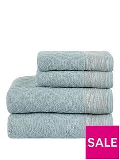 ideal-home-diamond-sculptured-550gsm-4-piece-towel-bale